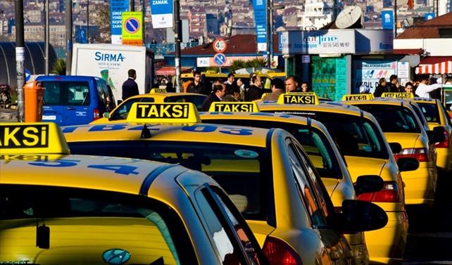 Taksilere kamera takılması kararına tepki