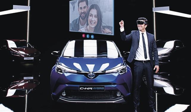 Toyota ilk 'interaktif showroom'u Türkiye'de kullanıma sunuyor