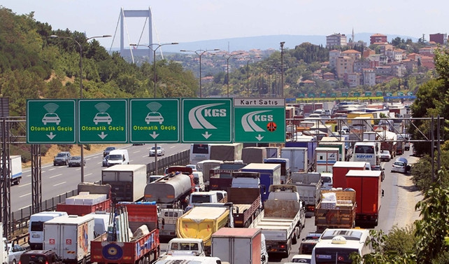 15 Temmuz Şehitler Köprüsü'nde gişeler kaldırılıyor