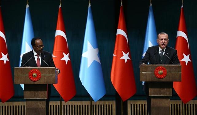Erdoğan ve Fermacu'dan ortak basın toplantısı