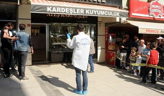 İstanbul'da kuyumcu soygunu