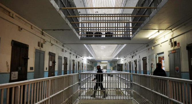Fransa'daki hapishanelerde tutuklu rekoru