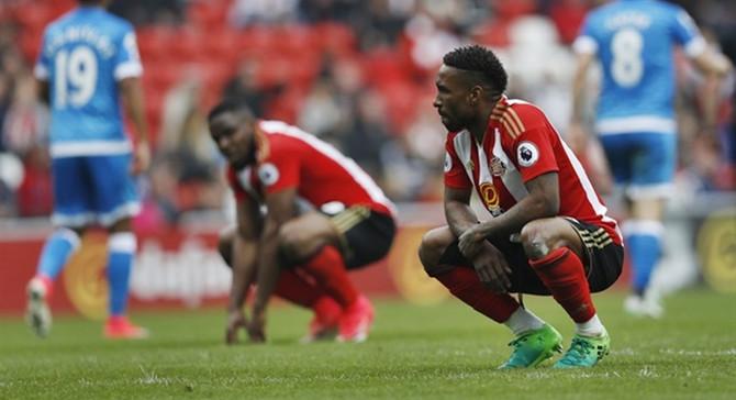 Sunderland küme düştü