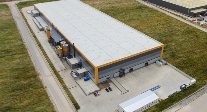 ODE yalıtım Eskişehir fabrikasında üretime başladı