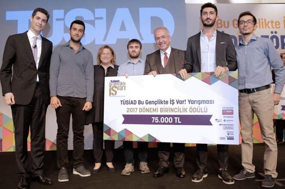TÜSİAD Bu Gençlikte İş Varın kazananları belli oldu