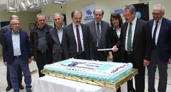 Erciyes Teknopark, 10'uncu yaşını kutladı