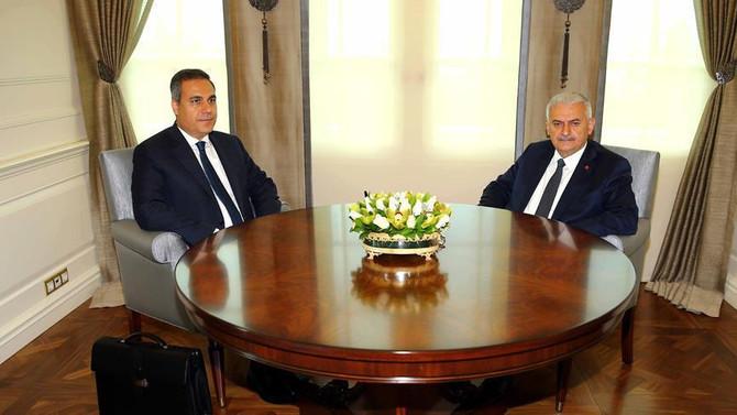 Başbakan Yıldırım MİT Müsteşarı Fidan'ı kabul etti