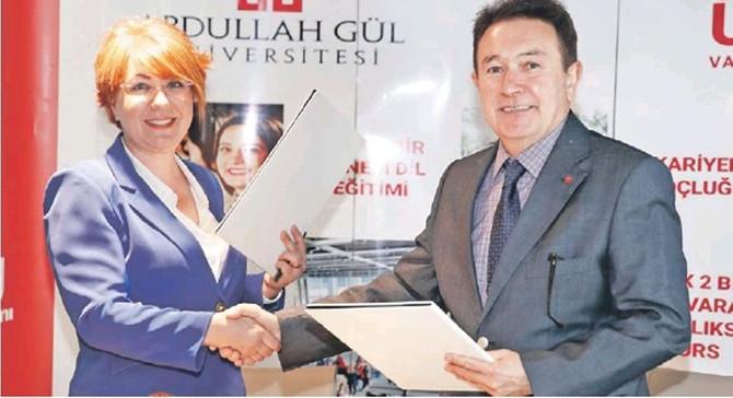 KİGDER ile AGÜ arasında 'Mentörlük Protokolü'