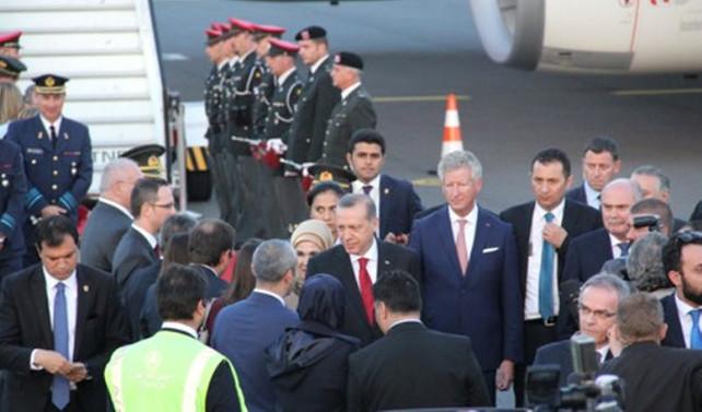 Erdoğan Belçika'dan ayrıldı