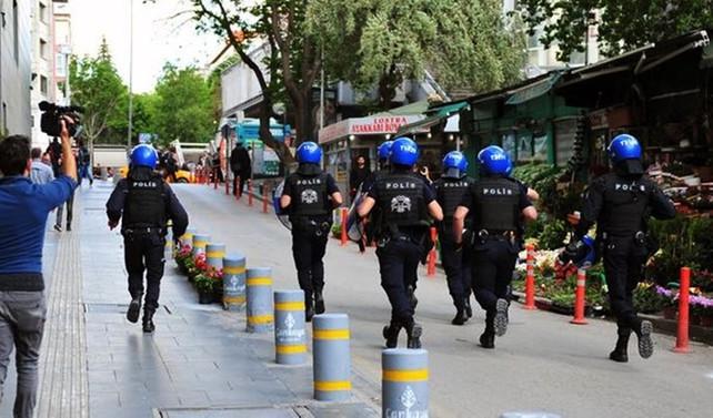 Ankara'da güneş batımından sonra eylem yasaklandı