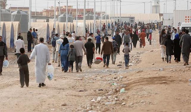 347 Iraklı sığınmacı ülkesine döndü