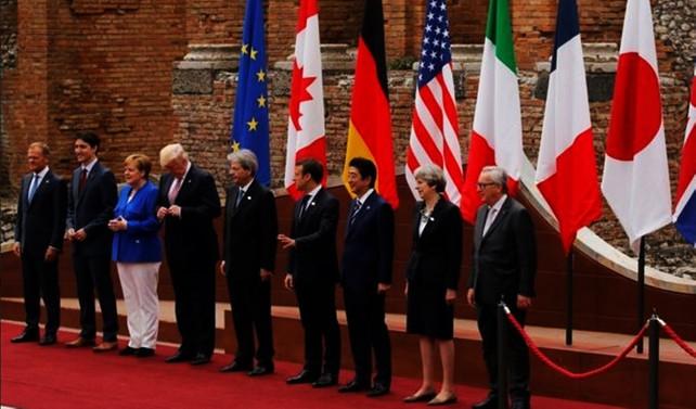 G7 Zirvesi'nde Trump belirsizliği