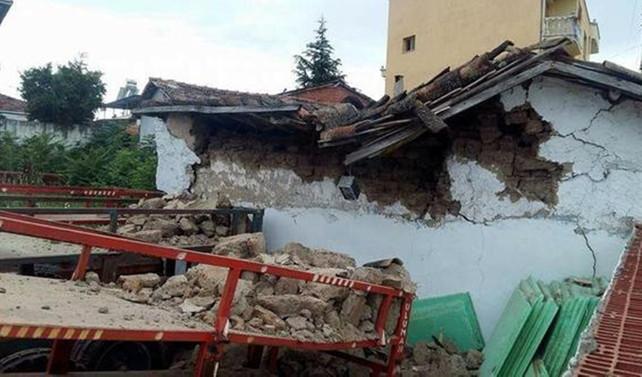 Manisa'da 5,1 büyüklüğünde deprem