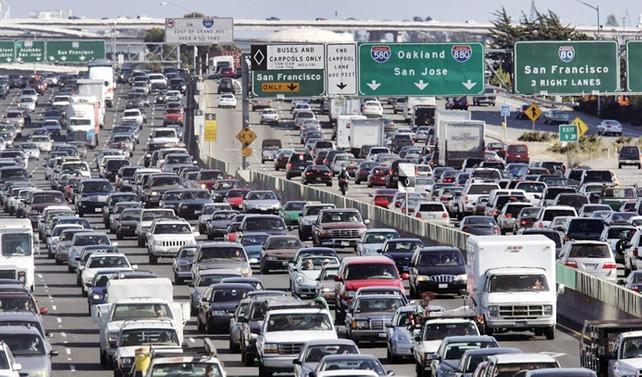 ABD'de üç günde 39 milyon kişi seyahat etti