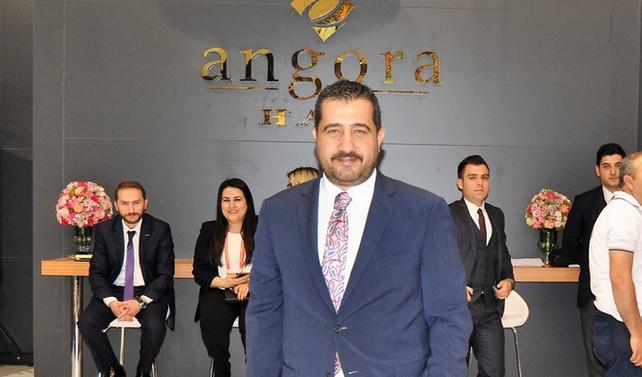 Domotex'te Angora Halı standına yoğun ilgi