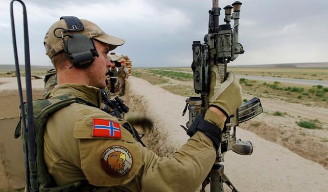 Norveç askerleri Litvanya'daki NATO gücüne katıldı