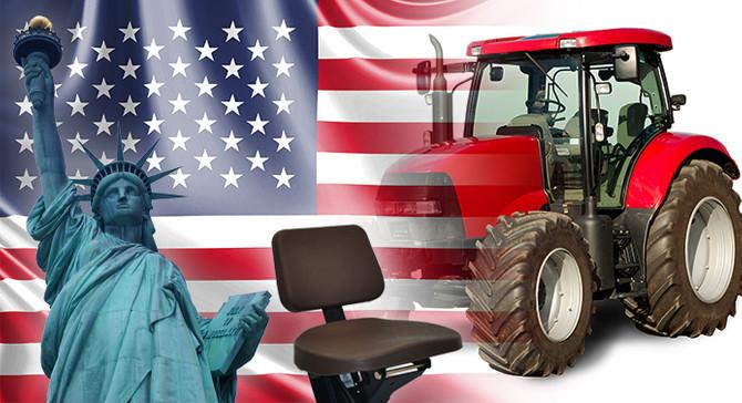 Amerikalı şirket traktör koltukları ithal etmek istiyor