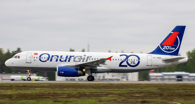 Onur Air filosuna 7 Airbus katıp Çin'e uçacak