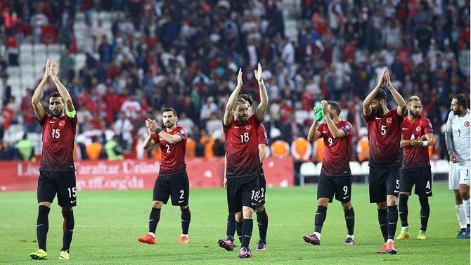 Türkiye, FIFA sıralamasında 3 basamak geriledi