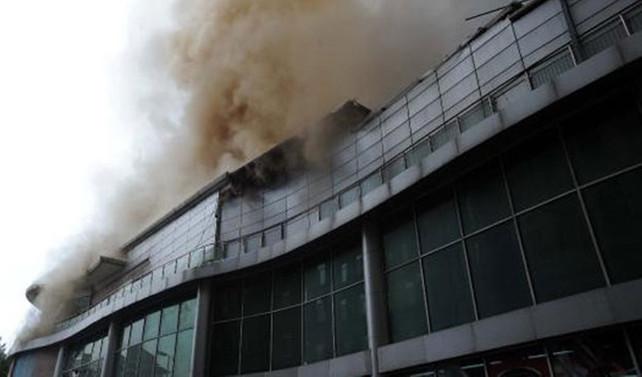 Beyoğlu'ndan yangın paniği