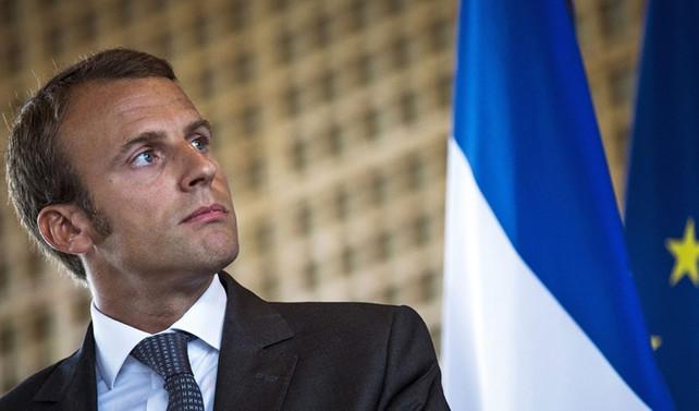 Fransa'da Macron'un partisi seçimden zaferle çıktı