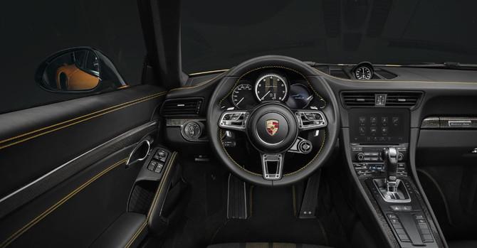Porsche 911 Turbo S Exclusive Sadece 500 Adet üretildi