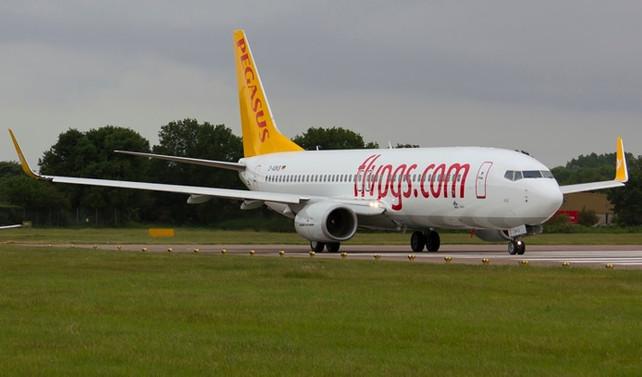 Pegasus, Ankara-Odessa uçuşlarına başladı