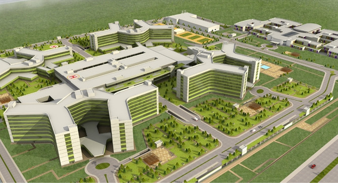 Kayseri 'Entegre Sağlık Kampüsü' Ağustos ayında hizmete açılıyor