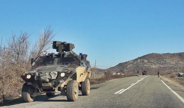 Askeri araca bombalı tuzak