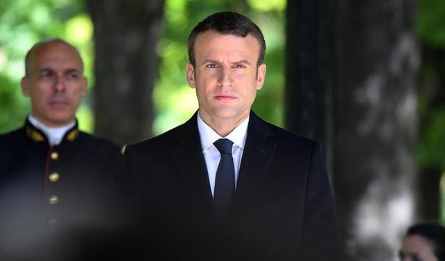 Katar Emiri, Macron ile görüştü