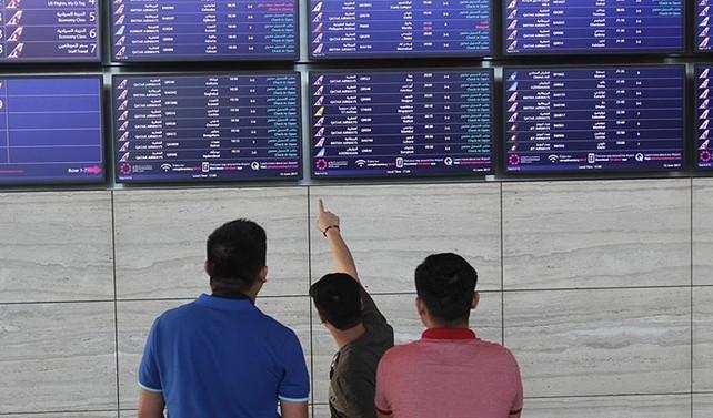 Katar'da hava trafiğinde aksaklık yaşanmıyor