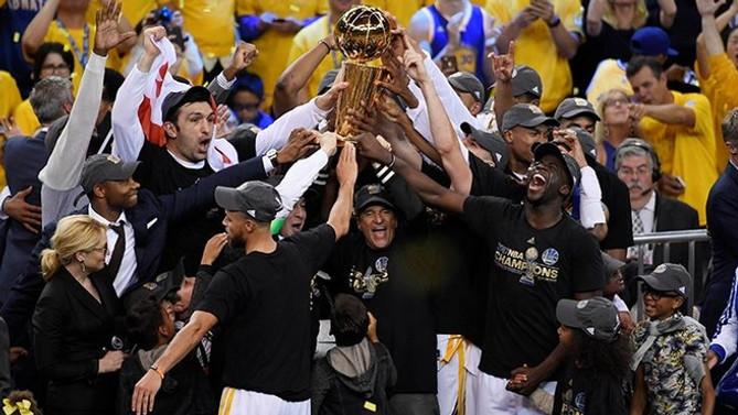 NBA'de şampiyon Golden State Warriors!