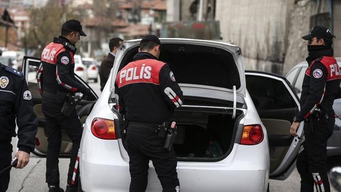 Gaziantep'te 15 çalıntı araç ele geçirildi