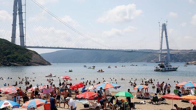 İstanbul'da 85 noktada yüzülebilecek