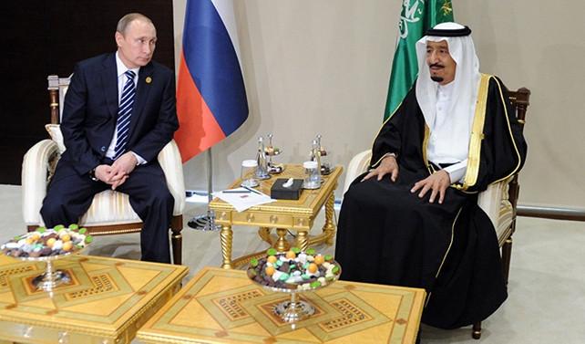 Putin, Kral Selman ile Katar'ı görüştü