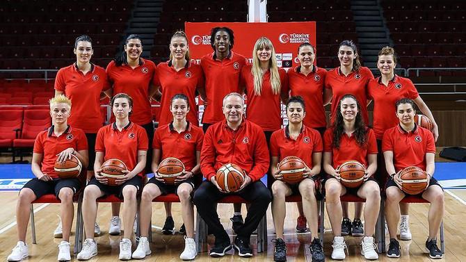 A Milli Kadın Basketbol Takımı Çekya'ya gitti