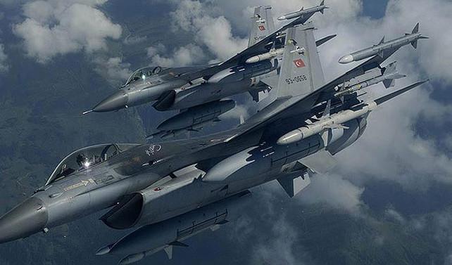 PKK'ya hava harekatı: 3 terörist öldürüldü