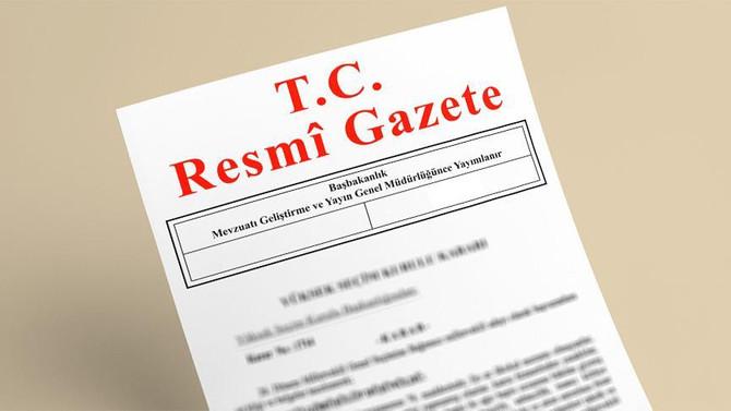 Atama kararları Resmi Gazete'te