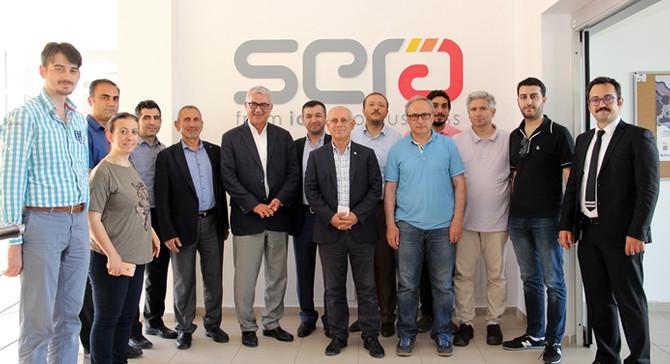 Melek yatırımcılar Erciyes Teknopark'ta bir araya geldi