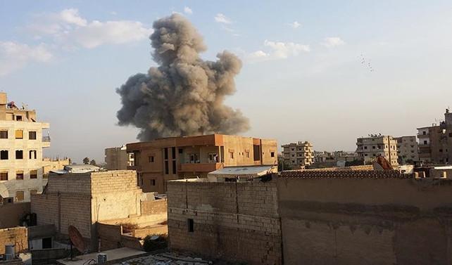 'Rakka'da hava saldırılarında 300 sivil öldü'
