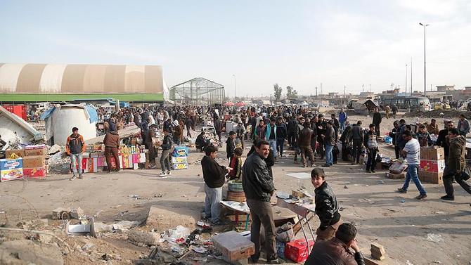 Musul'da 200 bin sivil evlerine döndü