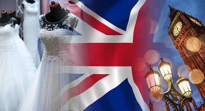İngiliz firma gelinlik çeşitleri ve aksesuarlarıyla ilgileniyor