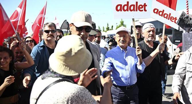 CHP'nin Adalet Yürüyüşü'nde 2. gün