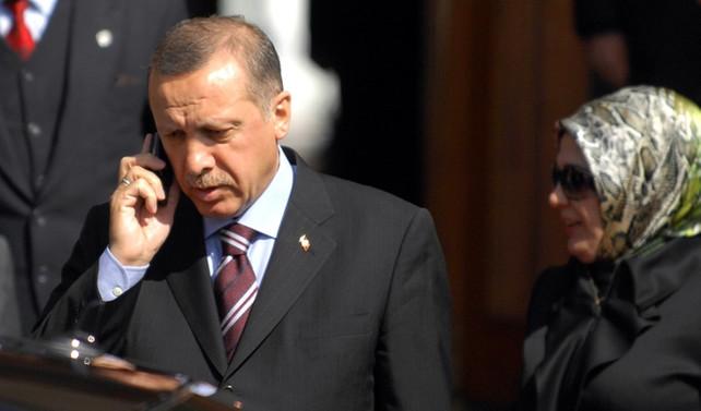 Erdoğan, Macron ve Al Sani ile görüştü