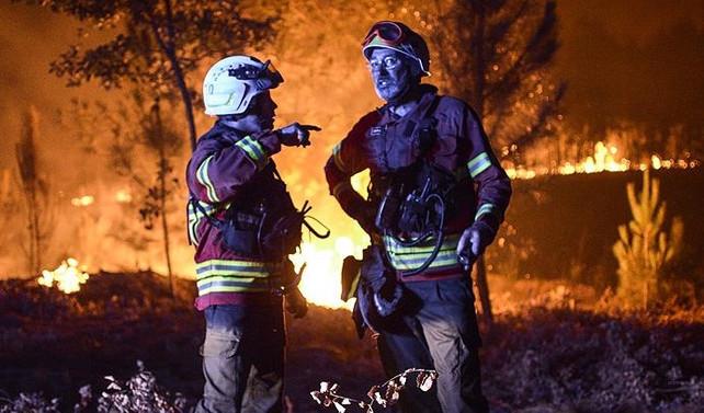 Portekiz'deki yangında ölü sayısı 63'e çıktı