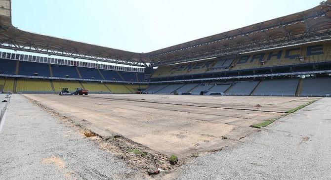 Fenerbahçe tesislerini yeni sezona hazırlıyor