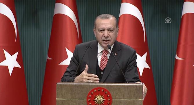 Erdoğan: Bizim aradığımız adalet, 250 şehidimizin kanıdır