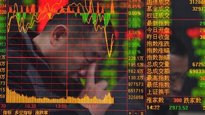 Asya borsaları, Çin hariç negatif