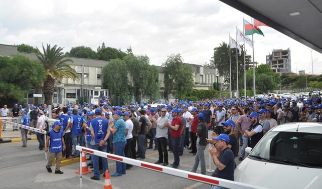 Petkim'de gözaltına alınan 14 sendikacı serbest bırakıldı