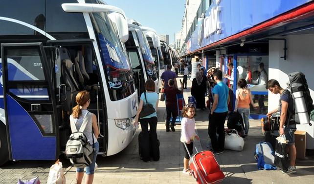 600 bin kişi otobüsle İstanbul'dan ayrılacak